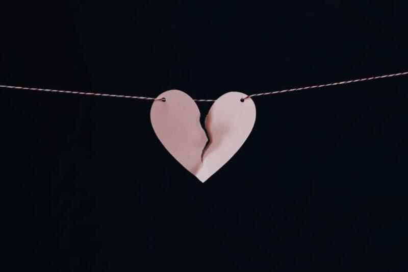 Brækket hjerte